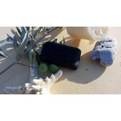 чёрное твёрдое мыло Марокко
