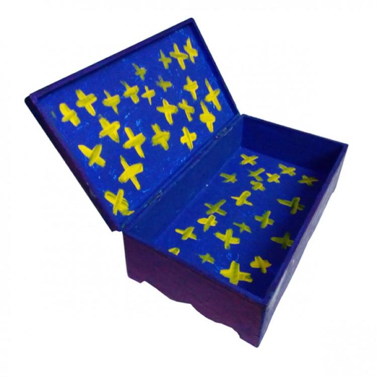 Шкатулка для хранения мелочей Звездная ночь