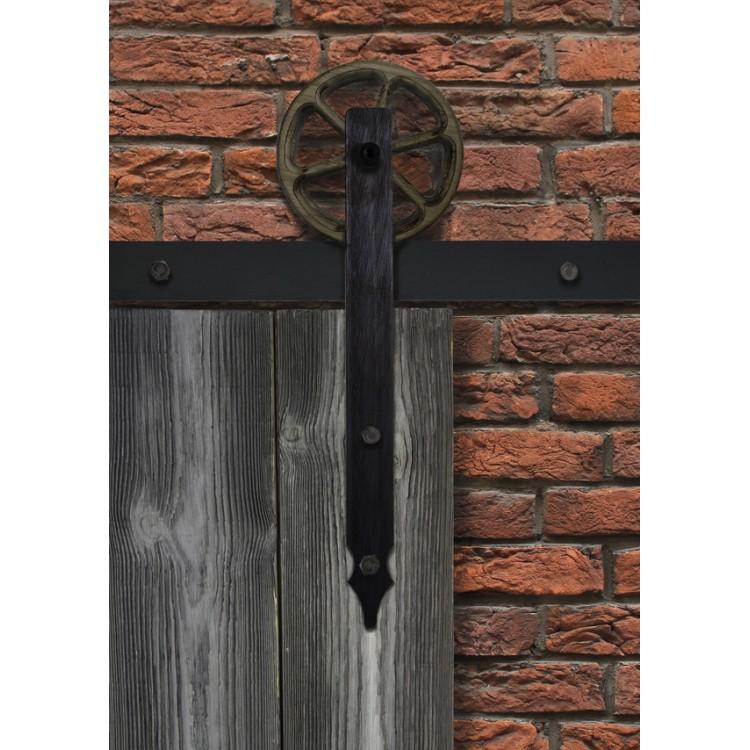 Механизм амбарных дверей