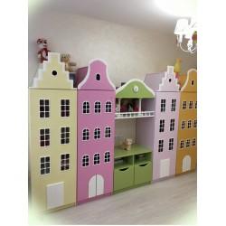 Проект Голландские домики-шкафчики №3