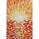 Мастеркласс. Восход. Картина акрилом для начинающих с нуля. Энергетическая живопись.