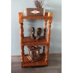 Деревянная этажерка, стеллаж для дома Home