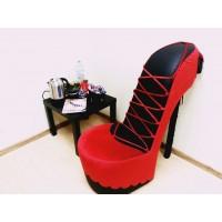 Кресла туфли в интерьере заказчиков