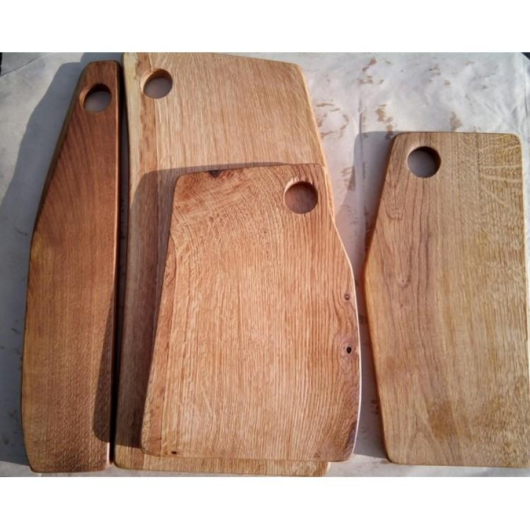 набор из 4 досок из старого дуба в стиле лофт