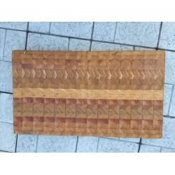 Доска торцевая из сибирской лиственницы 55/32/4 см