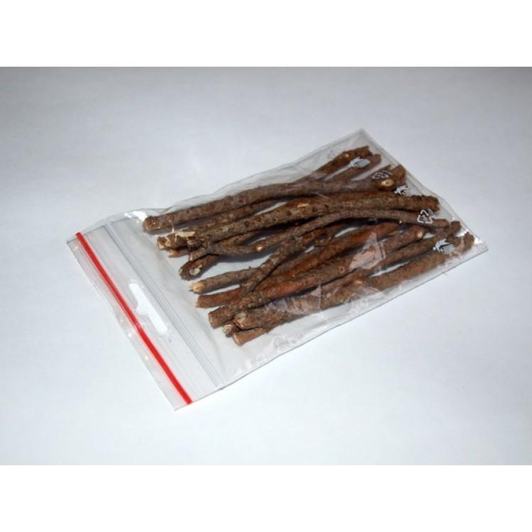 Палочка из сосны для чистки зубов. 13 см, упак. 15 шт.